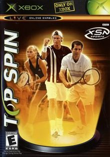 Top Spin Xbox (with book)