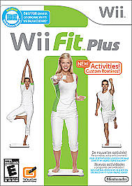 Wii Fit Plus (With Book)