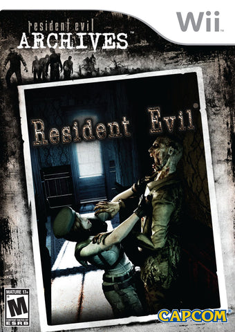 Resident Evil - Archives Wii (with book)