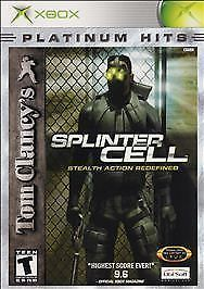 Tom Clancy's Splinter Cell Xbox (with book)