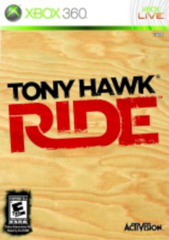 Tony Hawk  Ride Xbox 360 (with book)