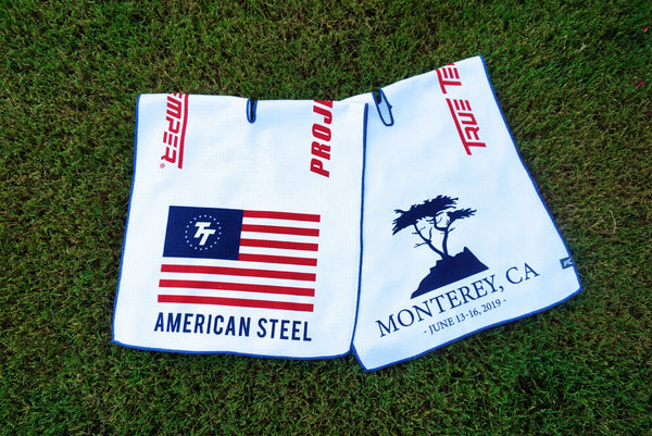 Limited Edition American Steel Golf Towel