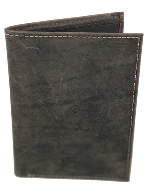 RFID Distressed Leather Passport Cover