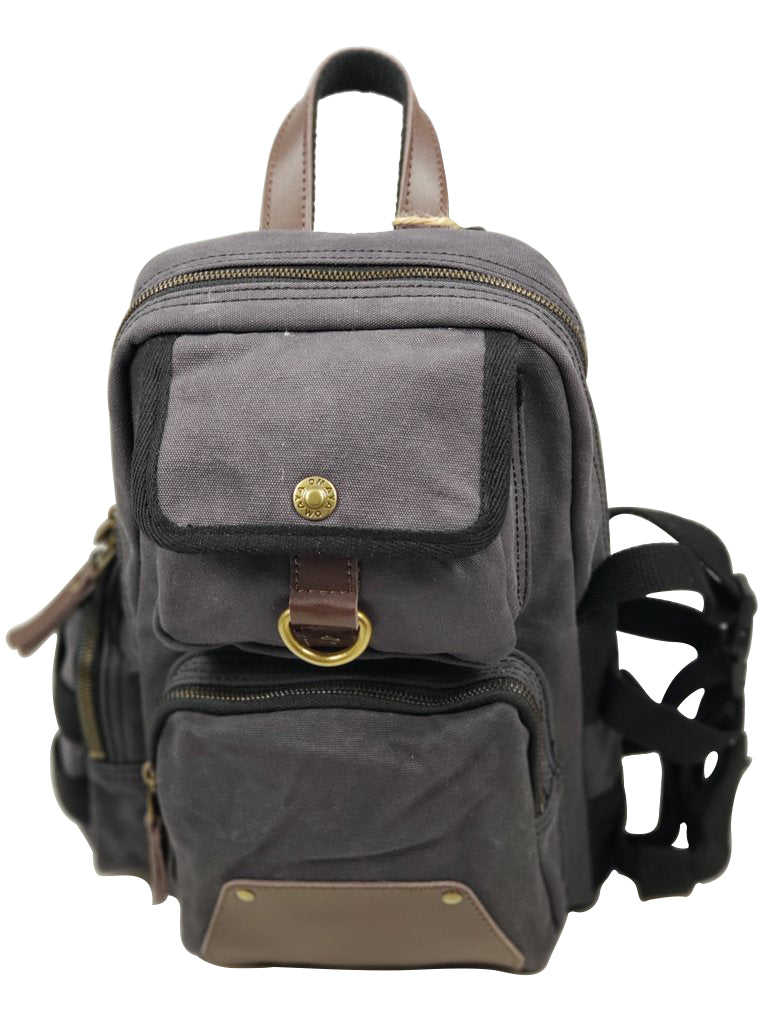 Canvas Single Strap Daypack