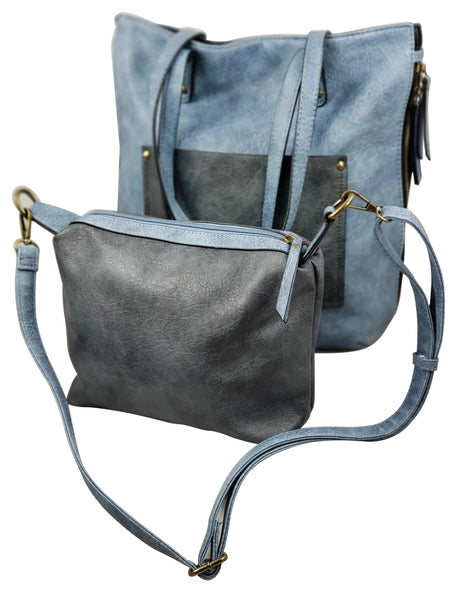 The Zoe Reversible 2 in 1 Tote