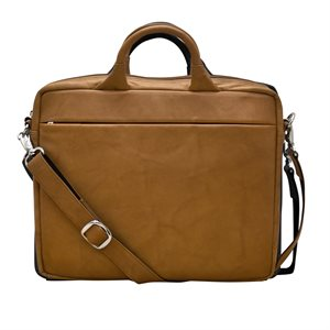 RFID Leather Laptop Bag