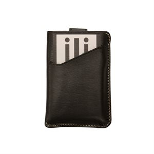 RFID Leather Credit Card Sleeve