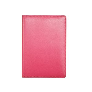 RFID Leather Passport Cover