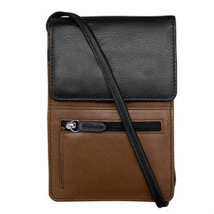 RFID Leather Crossbody/Organizer