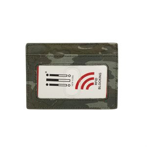 RFID Leather ID/Credit Card Holder