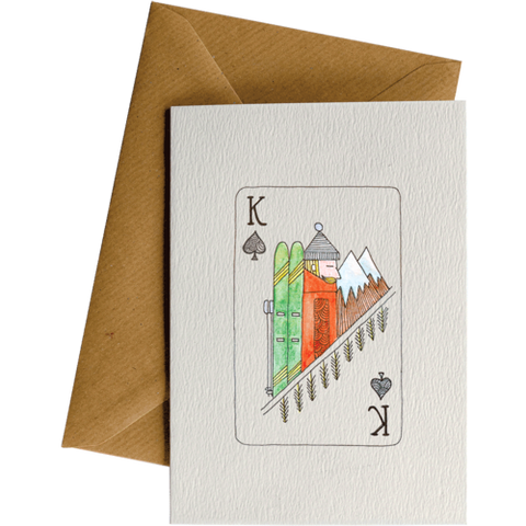 Little Difference 'King Skier' Gift Card