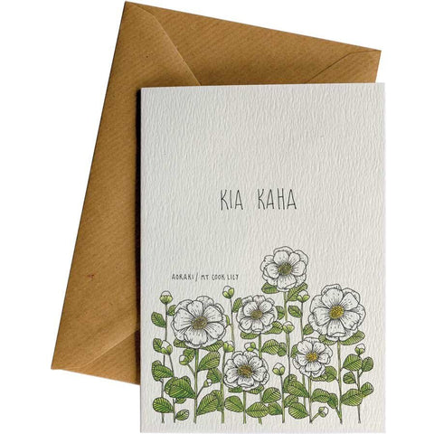 Little Difference 'Kia Kaha Lily' Gift Card