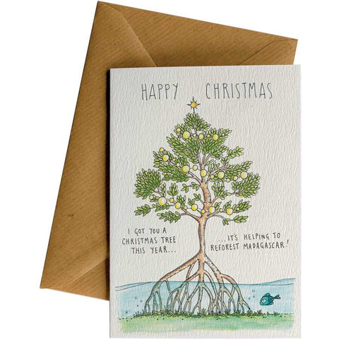 Little Difference 'Mangrove Christmas Tree' Gift Card