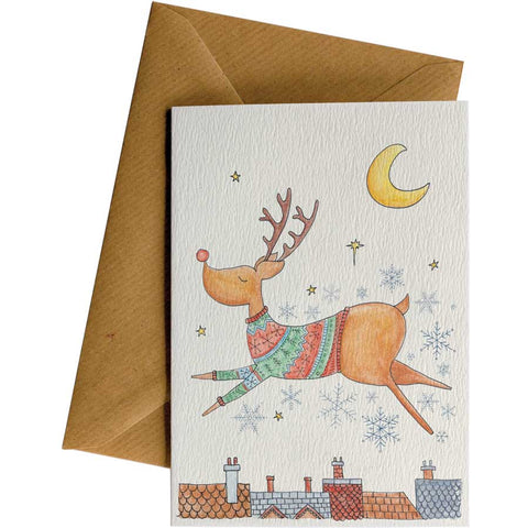 Little Difference 'Flying Reindeer' Gift Card