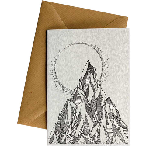 Little Difference 'Mountain Moon' Gift Card