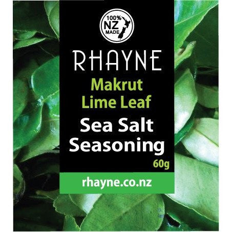Rhayne Makrut Lime Sea Salt Seasoning