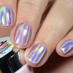 Unicorn Holographic Nails