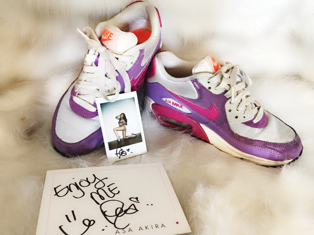 Pink & Purple Nike Air Max Sneakers
