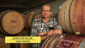 Hugh Crichton from Vidal Estate talks with The New Zealand Cellar