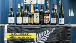 All Blacks RWC Team Wine Match