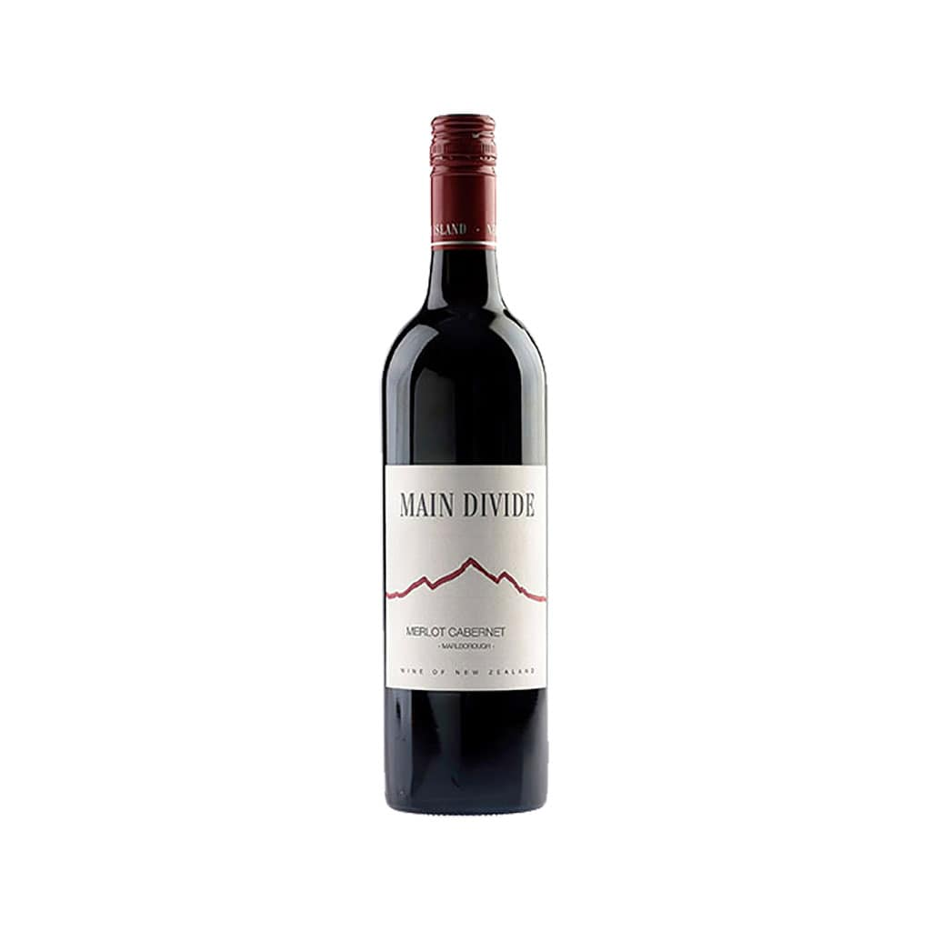 Main Divide Red Blend Canterbury New Zealand Wine