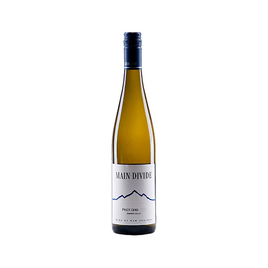 Main Divide Pinot Gris Canterbury New Zealand Wine