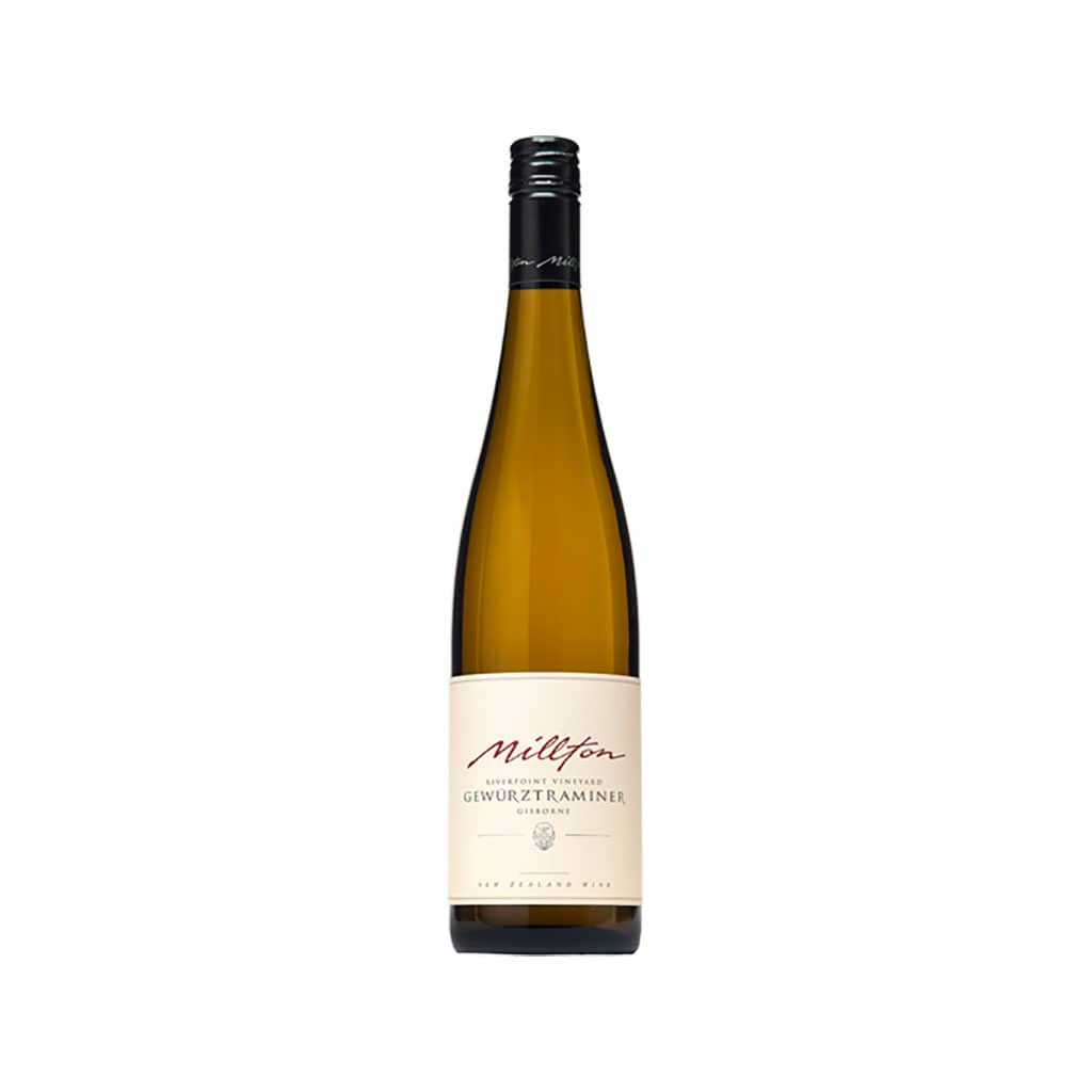Millton Riverpoint Gewurztraminer Gisborne New Zealand Wine