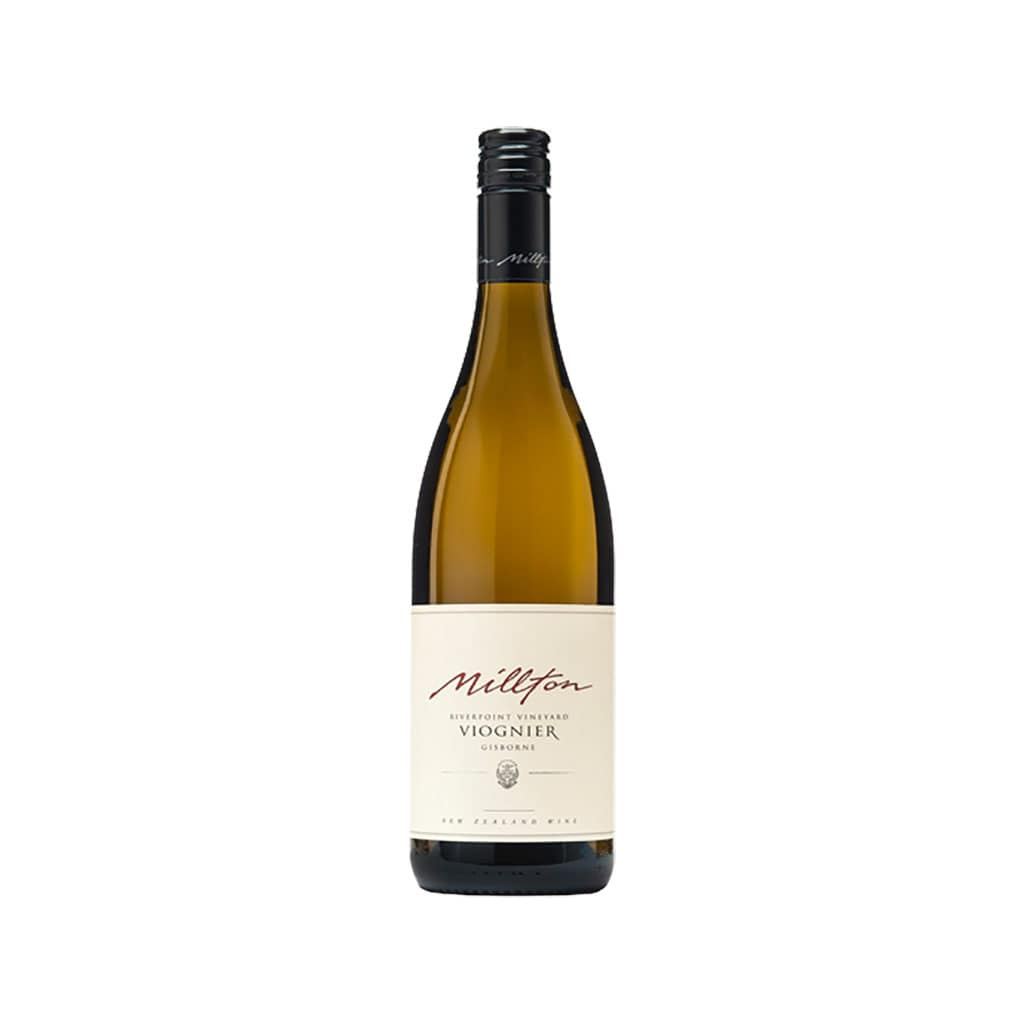 Millton Riverpoint Viognier Gisborne New Zealand Wine
