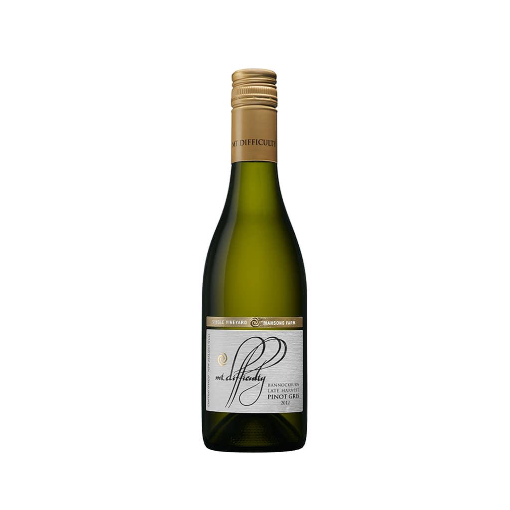 Mt Difficulty Wines Late Harvest Pinot Gris 2012