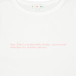 Load image into Gallery viewer, Cotton T-shirt LOVE Print