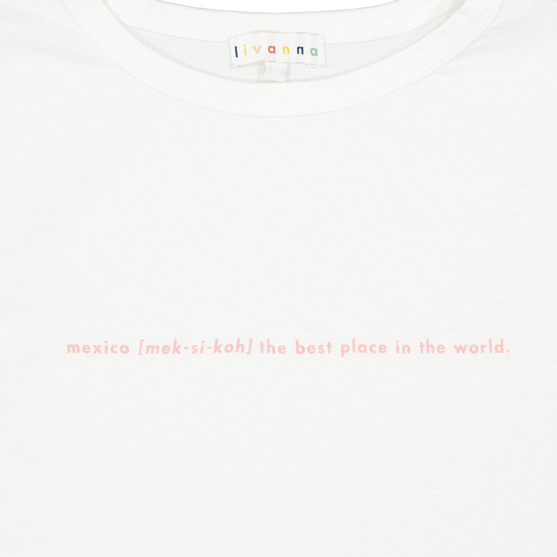 Cotton T-shirt MEXICO Print