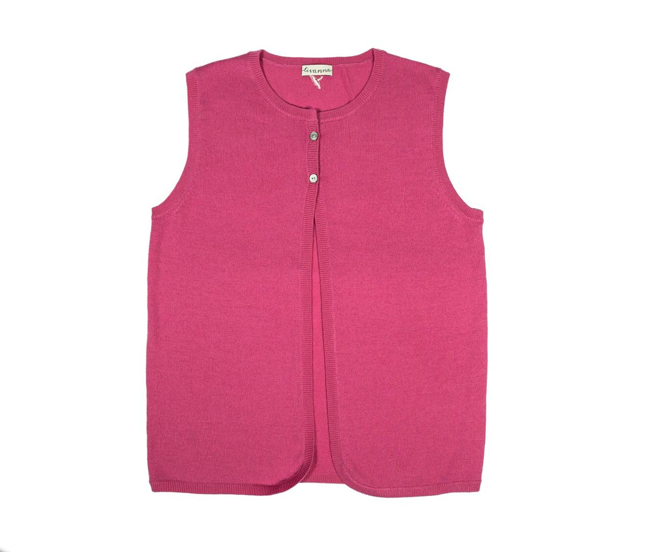 Merino Vest with Buttons