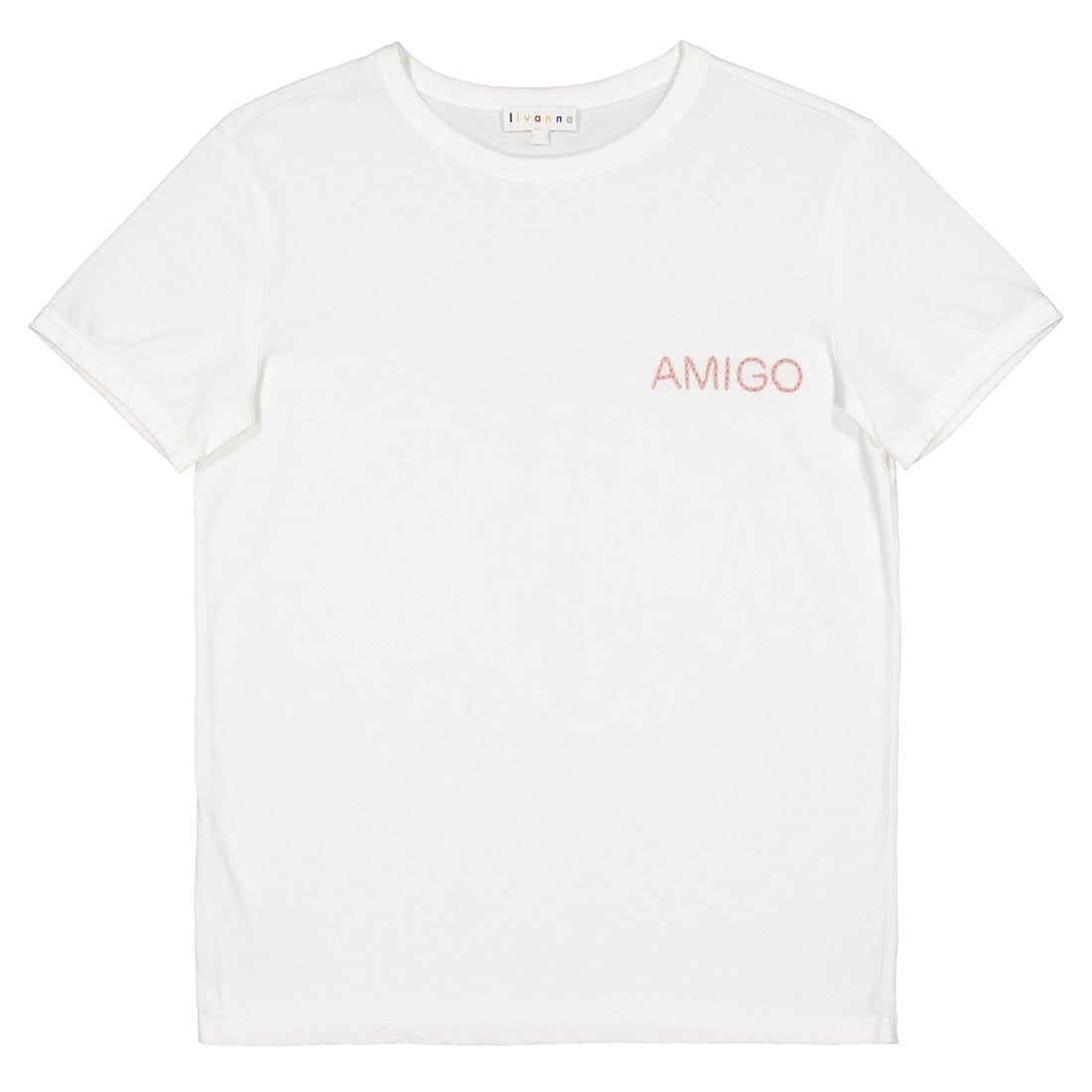 Cotton emboridery t-shirt Amigo