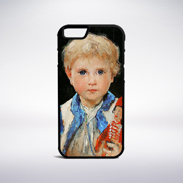 Albert Anker - Marie Anker Phone Case | Muse Phone Cases