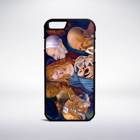 Albrecht Durer - Jesus Among The Doctors Phone Case | Muse Phone Cases