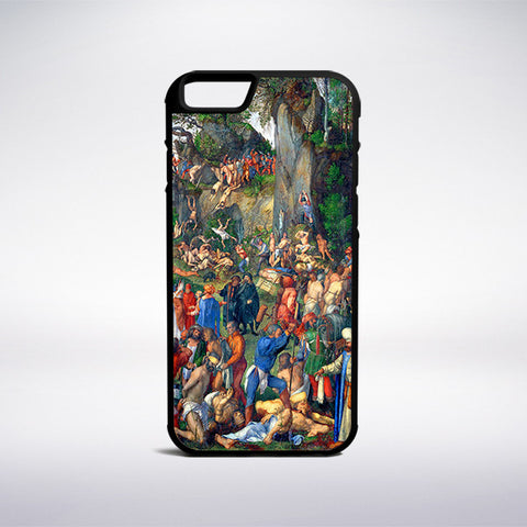 Albrecht Durer - Martyrdom Of Ten Thousand Christians Phone Case | Muse Phone Cases