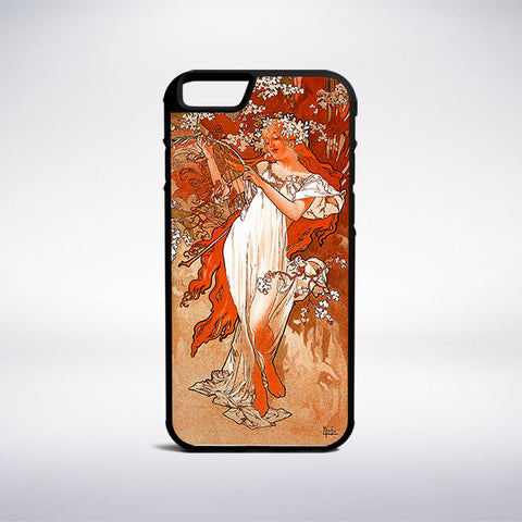 Alphonse Mucha - Spring Phone Case | Muse Phone Cases