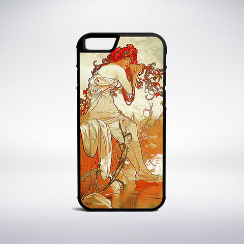 Alphonse Mucha - Summer Phone Case | Muse Phone Cases