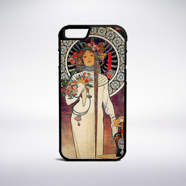 Alphonse Mucha - The Trappistine Phone Case | Muse Phone Cases