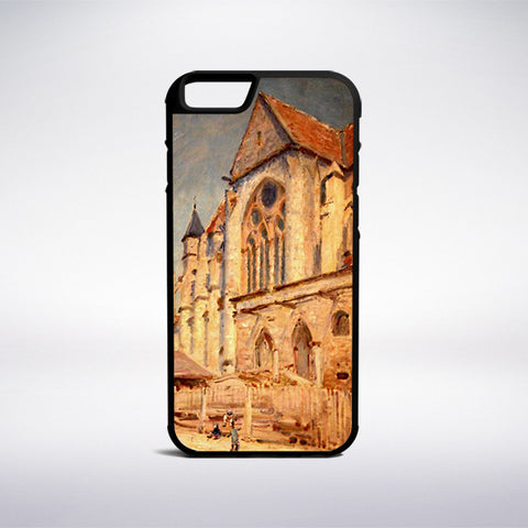 Alfred Sisley - The Church At Moret Phone Case | Muse Phone Cases