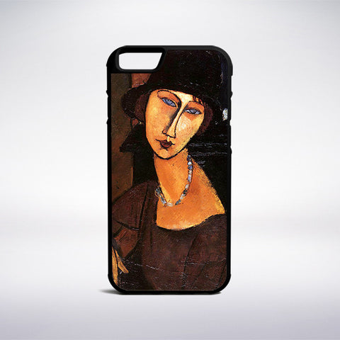 Amedeo Modigliani - Jeanne Hebuterne With Hat And Necklace Phone Case | Muse Phone Cases