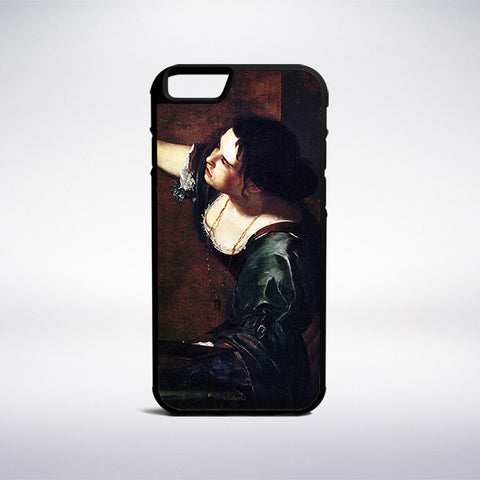 Artemisia Gentileschi - Self-Portrait As The Allegory Of Painting Phone Case | Muse Phone Cases