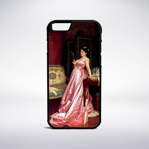 Auguste Toulmouche - The Admiring Glance Phone Case | Muse Phone Cases
