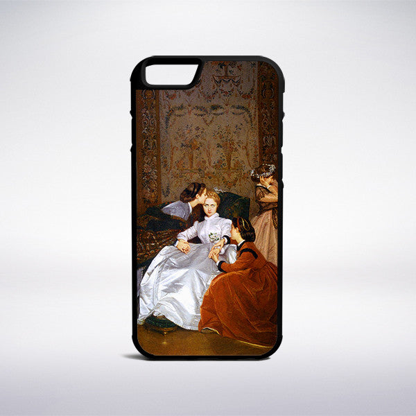 Auguste Toulmouche - The Reluctant Bride Phone Case | Muse Phone Cases