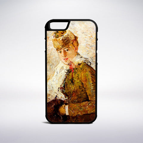 Berthe Morisot - Winter (Woman With A Muff) Phone Case | Muse Phone Cases