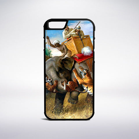 Briton Riviere - Tigerjagd Phone Case | Muse Phone Cases