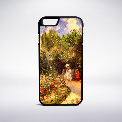 Camille Pissarro - The Garden Of Pontoise Phone Case | Muse Phone Cases