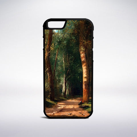 Camille Pissarro - Went Into A Forest Phone Case | Muse Phone Cases