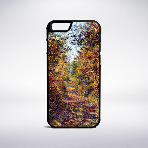 Camille Pissarro - A Path In The Woods Pontoise Phone Case | Muse Phone Cases