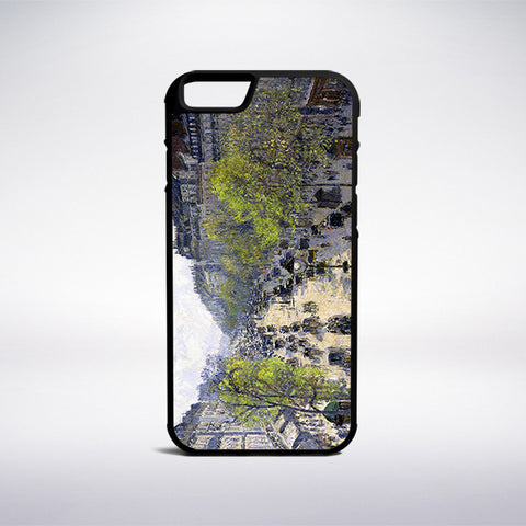 Camille Pissarro - Boulevard Montmartre, Spring Phone Case | Muse Phone Cases